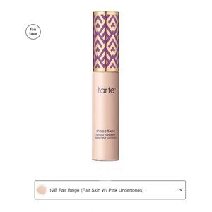 🆕Tarte Shape Tape Concealer, 12B Fair Beige